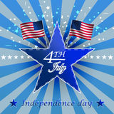 Independence day,  background Stock Image