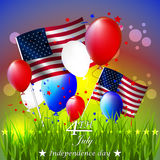 Independence day,  background Royalty Free Stock Photos