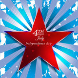 Independence day,  background Stock Images