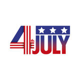 Independence day background Royalty Free Stock Photography