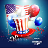 Independence day background Royalty Free Stock Photos