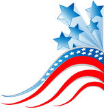 Independence day background Stock Photos