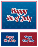 Independence day backgrounds Royalty Free Stock Photography