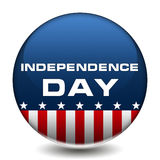 Independence Day Badge Royalty Free Stock Images