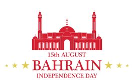 Independence Day. Bahrain Royalty Free Stock Image