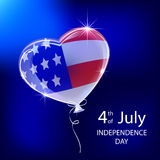 Independence day balloon Stock Photography