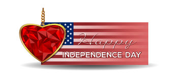 Independence Day banner Stock Photo