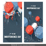Independence Day banners Royalty Free Stock Image