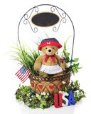 Independence Day Basket Royalty Free Stock Image