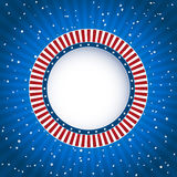 Independence day blue striped background Royalty Free Stock Image