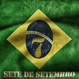 Independence day of Brazil Royalty Free Stock Photos