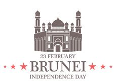 Independence Day. Brunei Royalty Free Stock Photos