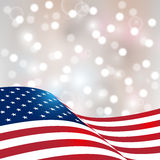 Independence Day card Stock Images