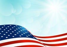 Independence Day card Stock Photos