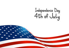 Independence Day card Royalty Free Stock Image