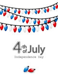 Independence day card Royalty Free Stock Images