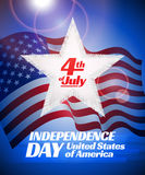 Independence day card Royalty Free Stock Photos