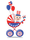 Independence day,carriage Royalty Free Stock Image