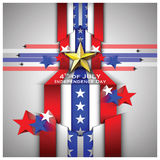 Independence Day Celebrate Background Royalty Free Stock Image