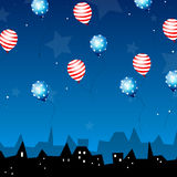 independence day celebration card Royalty Free Stock Photos