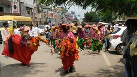 Independence day celebration festivals dance Stock Image