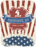 Independence Day Celebration Poster Stock Photos