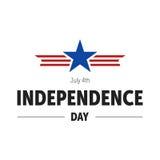 Independence Day Celebration. USA Independence Day Celebration Icon Royalty Free Stock Image