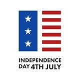 Independence Day Celebration. USA Independence Day Celebration Vector Icon Stock Photos