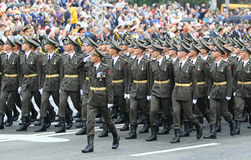 Independence Day celebrations in Kyiv, Ukraine Stock Photos