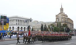 Independence Day celebrations in Kyiv, Ukraine Royalty Free Stock Photos