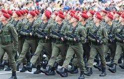 Independence Day celebrations in Kyiv, Ukraine Stock Photo