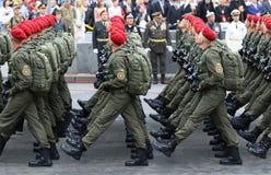 Independence Day celebrations in Kyiv, Ukraine Royalty Free Stock Image