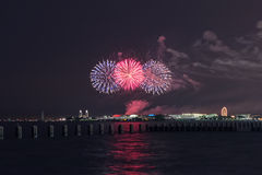 Independence Day in Chicago Stock Photo