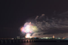 Independence Day in Chicago Royalty Free Stock Photography