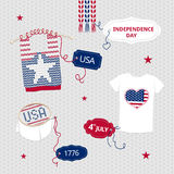 Independence Day clothes Stock Photo