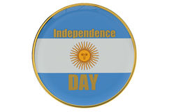 Independence Day concept Argentina Royalty Free Stock Image