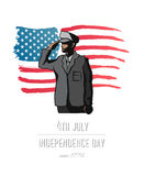 Independence day concept vector Stock Photos