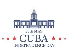 Independence Day. Cuba Stock Photo