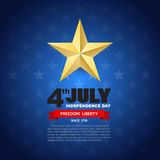 Independence day design element background Stock Image