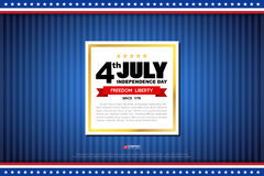 Independence day design element Royalty Free Stock Images