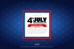 Independence day design element Stock Photo