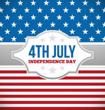 Independence day design Stock Photo