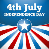 Independence day design Royalty Free Stock Photography