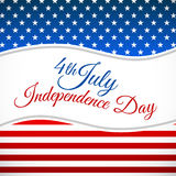 Independence day design Royalty Free Stock Photo