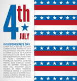 Independence day design Royalty Free Stock Images
