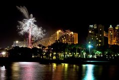 Independence Day in Eilat, Israel Stock Photography
