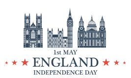 Independence Day. England Royalty Free Stock Image
