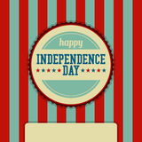 Independence Day Event Stamp Background Royalty Free Stock Photography