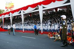 Independence day events, Indonesia Royalty Free Stock Photography