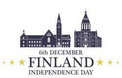 Independence Day. Finland Royalty Free Stock Image